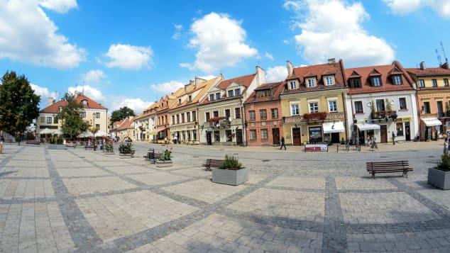 Sandomierz, Poloni