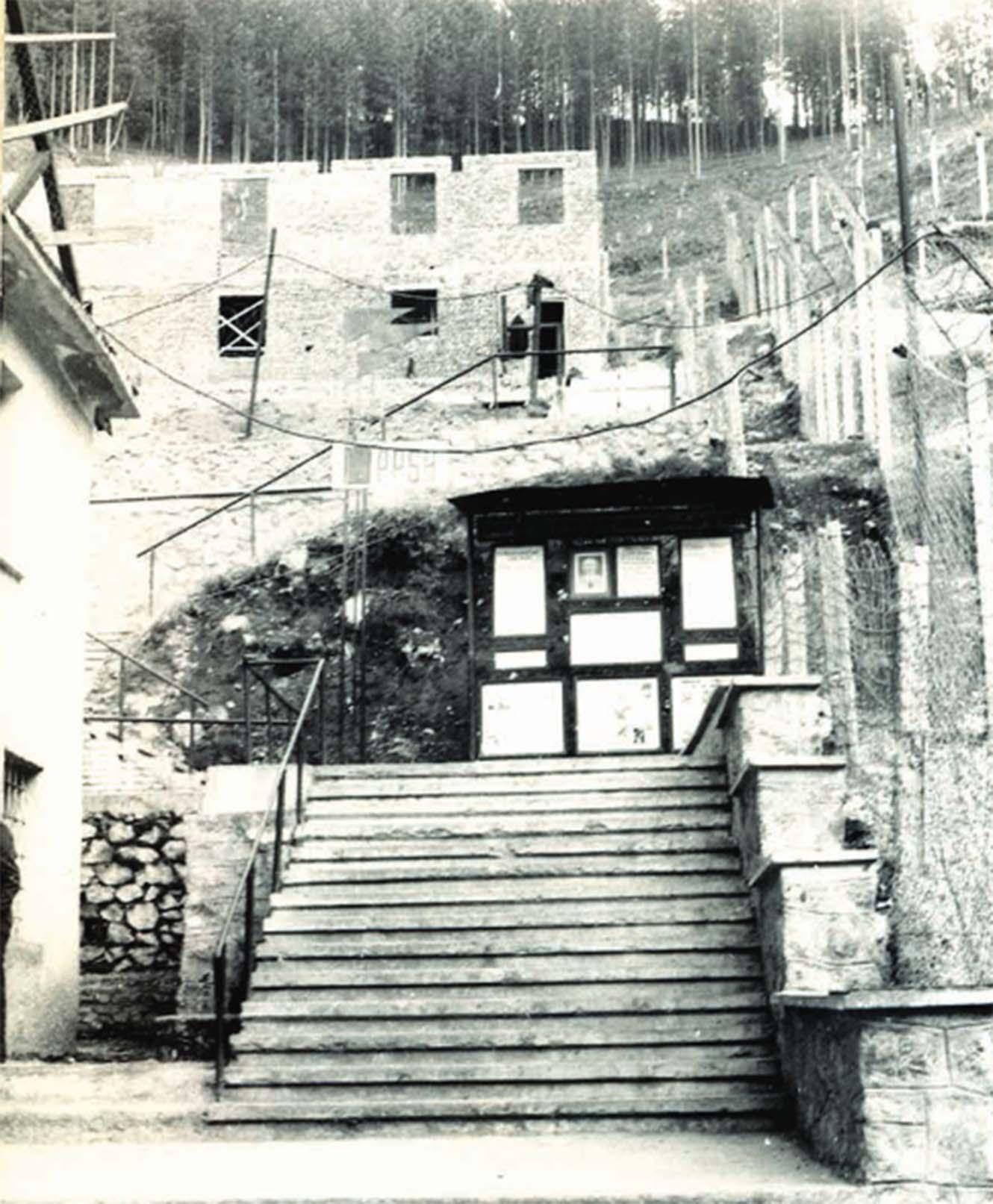 Kampi i Qafe-Barit ne Puke. Foto e viteve 80-te 1