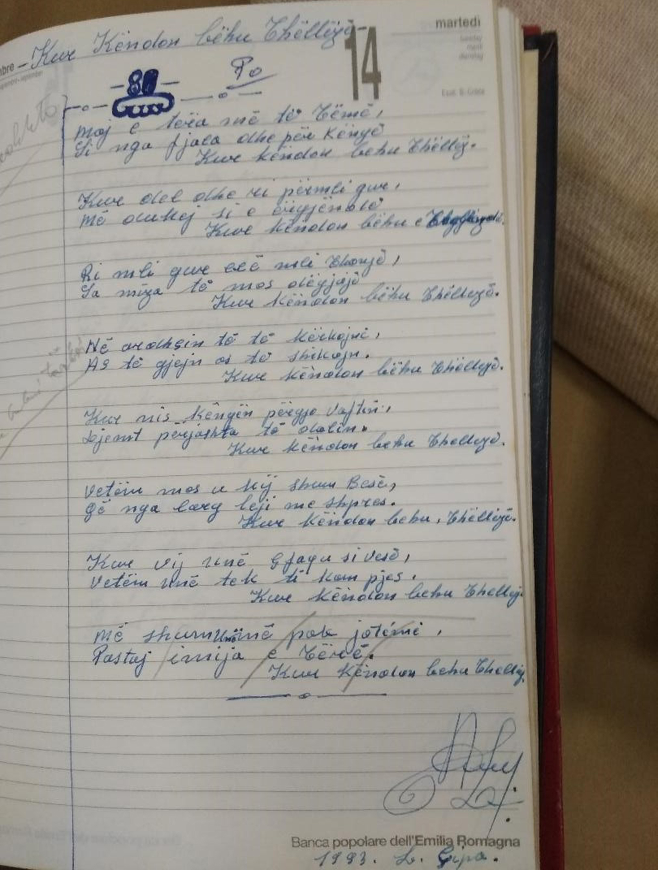 2. Dorëshkrime të L. Çipës.